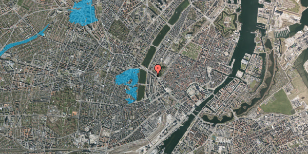 Oversvømmelsesrisiko fra vandløb på Gyldenløvesgade 9, 1600 København V