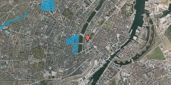 Oversvømmelsesrisiko fra vandløb på Nyropsgade 23, 2. , 1602 København V