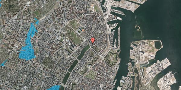 Oversvømmelsesrisiko fra vandløb på Willemoesgade 2, st. , 2100 København Ø