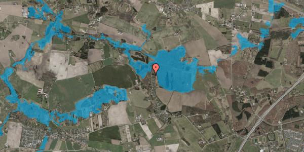 Oversvømmelsesrisiko fra vandløb på Solager 109, 2630 Taastrup