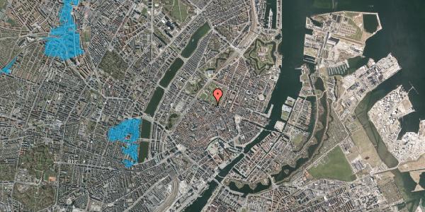 Oversvømmelsesrisiko fra vandløb på Gothersgade 55, 1. th, 1123 København K