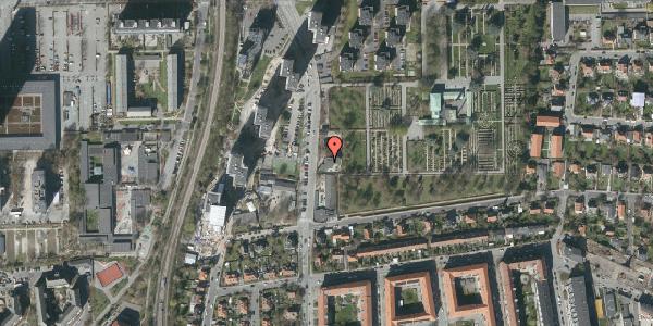 Oversvømmelsesrisiko fra vandløb på Borgmester Fischers Vej 9, 2000 Frederiksberg