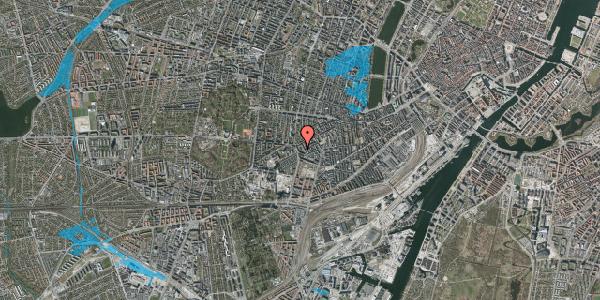 Oversvømmelsesrisiko fra vandløb på Vesterbrogade 137D, kl. 3, 1620 København V