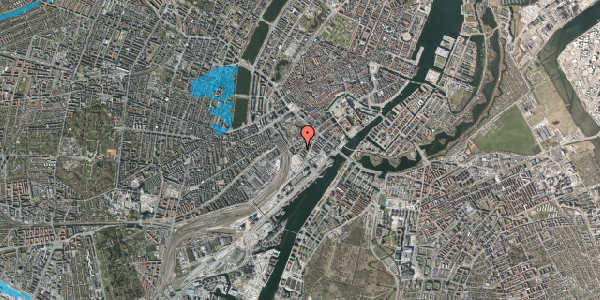 Oversvømmelsesrisiko fra vandløb på Stoltenbergsgade 10, 1. , 1576 København V