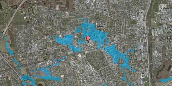 Oversvømmelsesrisiko fra vandløb på Hermods Allé 6A, 2. th, 2600 Glostrup