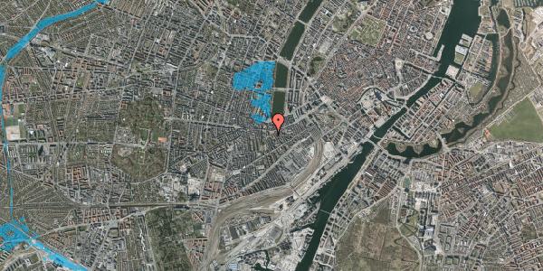 Oversvømmelsesrisiko fra vandløb på Vesterbrogade 49, 1620 København V
