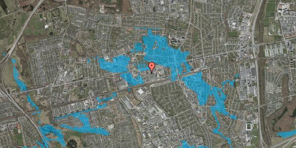 Oversvømmelsesrisiko fra vandløb på Odinsvej 13, 1. , 2600 Glostrup