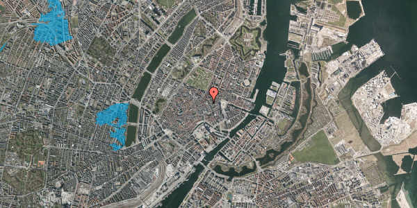 Oversvømmelsesrisiko fra vandløb på Gammel Mønt 3A, 3. , 1117 København K