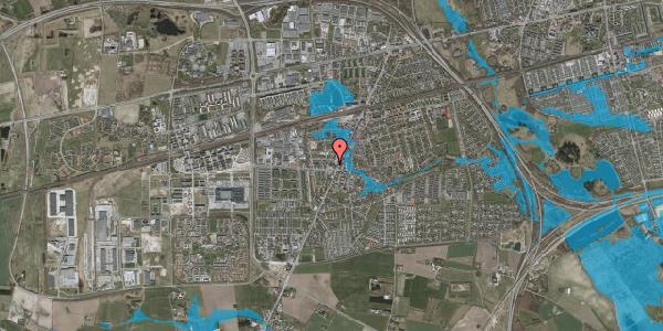 Oversvømmelsesrisiko fra vandløb på Høje Taastrup Vej 8D, 2630 Taastrup