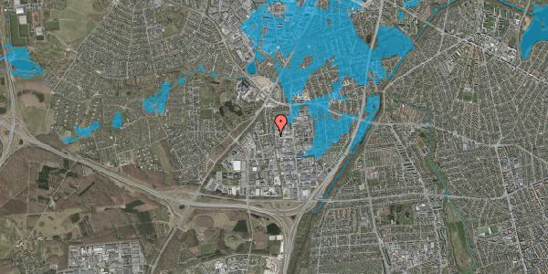 Oversvømmelsesrisiko fra vandløb på Ydergrænsen 35, 2600 Glostrup