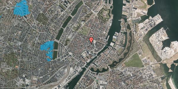 Oversvømmelsesrisiko fra vandløb på Østergade 36, 3. , 1100 København K
