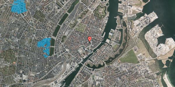 Oversvømmelsesrisiko fra vandløb på Vingårdstræde 13, st. , 1070 København K