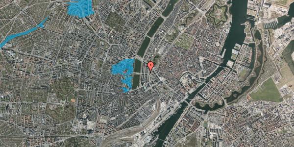 Oversvømmelsesrisiko fra vandløb på Vester Farimagsgade 23, 4. , 1606 København V