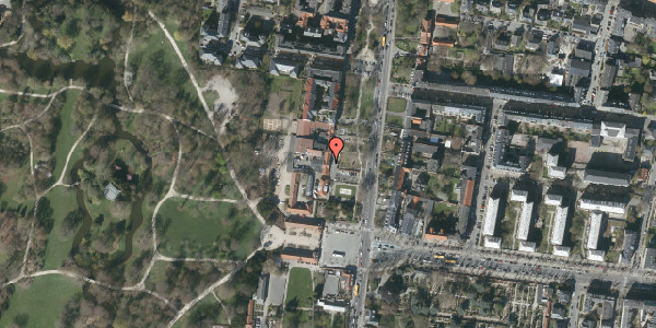Oversvømmelsesrisiko fra vandløb på Allegade 7, 2000 Frederiksberg