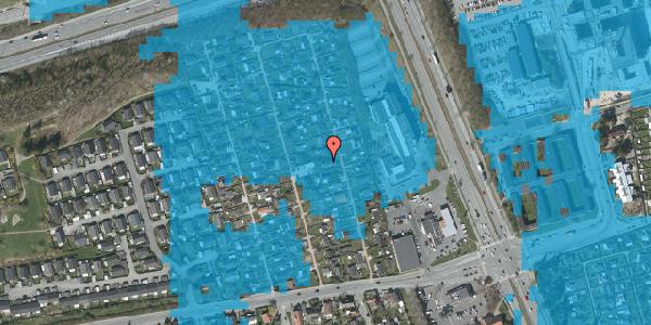 Oversvømmelsesrisiko fra vandløb på Hf. Kettehøj 96, 2650 Hvidovre