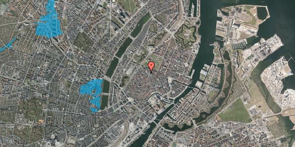 Oversvømmelsesrisiko fra vandløb på Suhmsgade 2B, 3. , 1125 København K