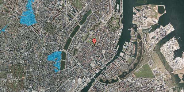 Oversvømmelsesrisiko fra vandløb på Landemærket 26, 1119 København K