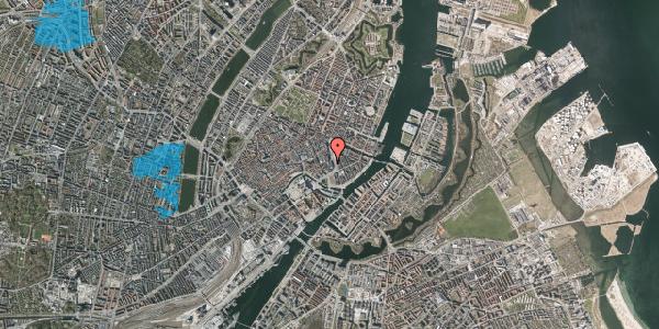 Oversvømmelsesrisiko fra vandløb på Laksegade 4, 1063 København K
