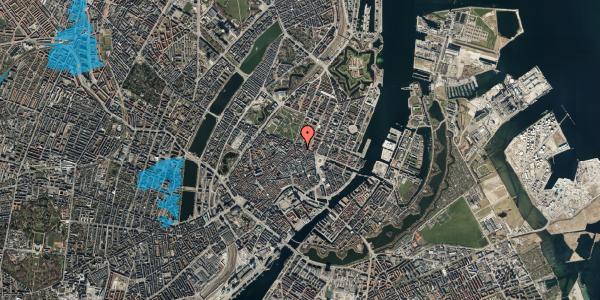 Oversvømmelsesrisiko fra vandløb på Ny Østergade 28, 1101 København K