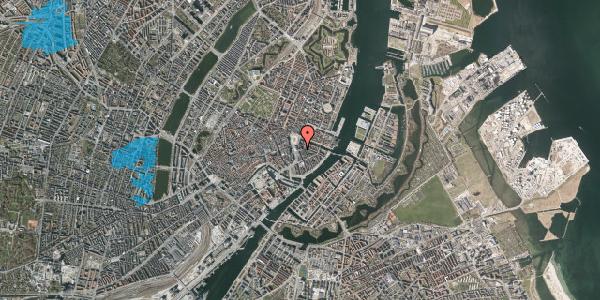 Oversvømmelsesrisiko fra vandløb på August Bournonvilles Passage 5, st. , 1055 København K