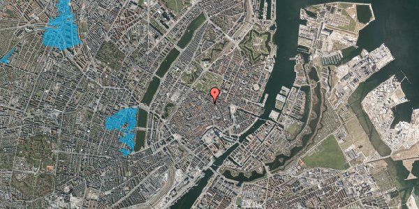 Oversvømmelsesrisiko fra vandløb på Møntergade 1, 7. , 1116 København K