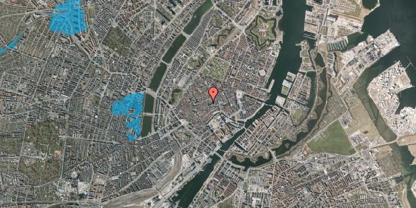 Oversvømmelsesrisiko fra vandløb på Valkendorfsgade 23, 1. , 1151 København K