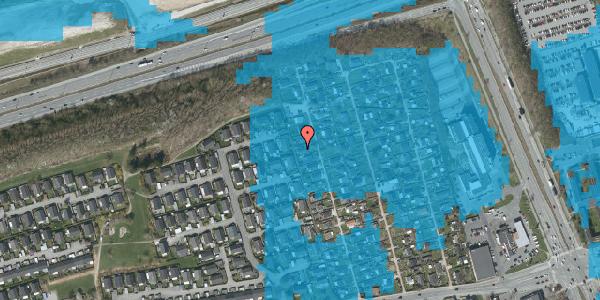 Oversvømmelsesrisiko fra vandløb på Hf. Kettehøj 32, 2650 Hvidovre