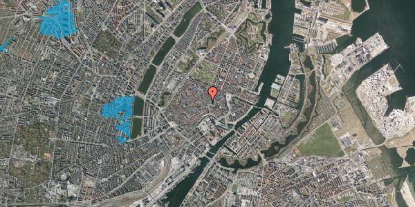 Oversvømmelsesrisiko fra vandløb på Købmagergade 20, 1150 København K