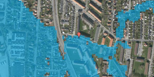 Oversvømmelsesrisiko fra vandløb på Gyvelvej 13, st. ae, 2600 Glostrup