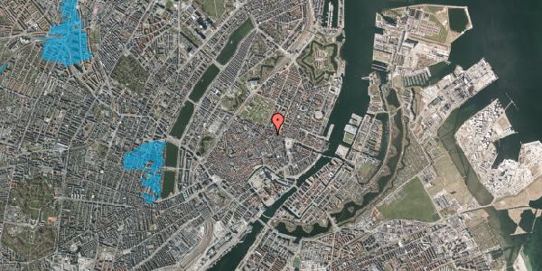 Oversvømmelsesrisiko fra vandløb på Ny Østergade 19, 4. , 1101 København K