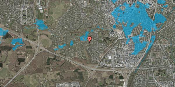 Oversvømmelsesrisiko fra vandløb på Vængedalen 106, 2600 Glostrup