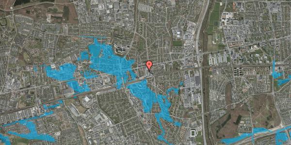 Oversvømmelsesrisiko fra vandløb på Glostrup Shoppingcenter 12, st. , 2600 Glostrup