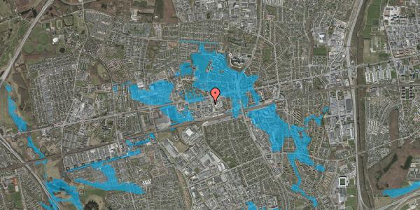Oversvømmelsesrisiko fra vandløb på Hermods Allé 3, 2600 Glostrup
