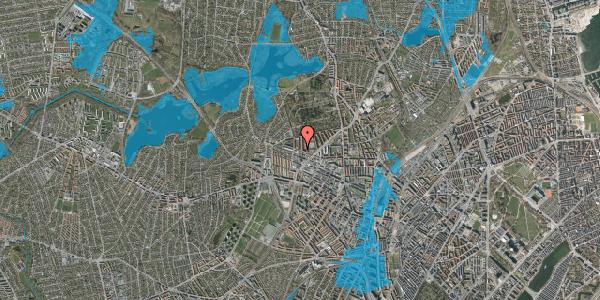 Oversvømmelsesrisiko fra vandløb på Præstelængen 1A, 2400 København NV