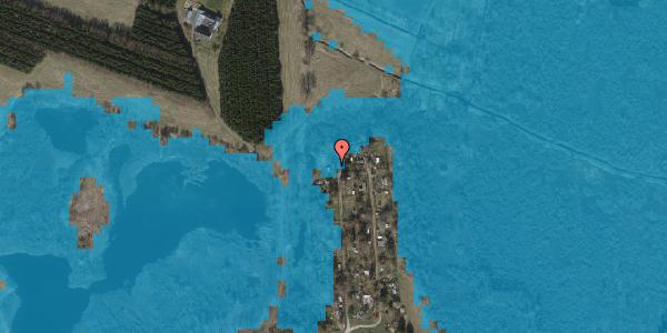 Oversvømmelsesrisiko fra vandløb på Solager 134, 2630 Taastrup