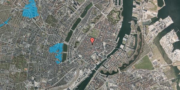 Oversvømmelsesrisiko fra vandløb på Niels Hemmingsens Gade 34, 1153 København K