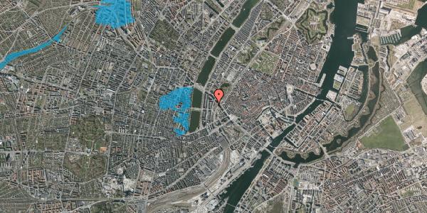 Oversvømmelsesrisiko fra vandløb på Staunings Plads 1, st. , 1607 København V