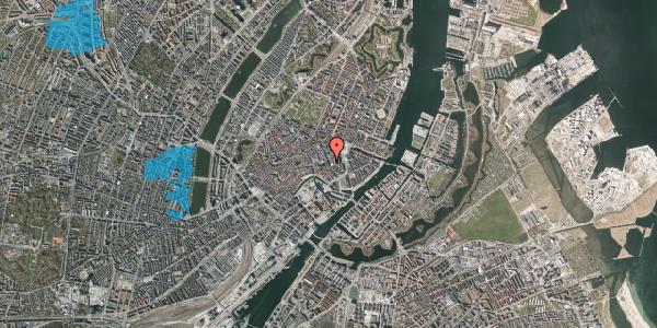 Oversvømmelsesrisiko fra vandløb på Bremerholm 6, st. , 1069 København K