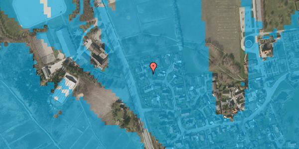 Oversvømmelsesrisiko fra vandløb på Bysvinget 15, 2625 Vallensbæk