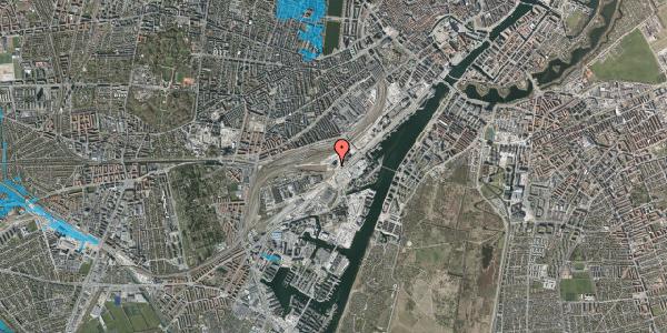 Oversvømmelsesrisiko fra vandløb på Carsten Niebuhrs Gade 49, 1577 København V
