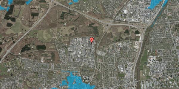 Oversvømmelsesrisiko fra vandløb på Fabriksparken 7, 2600 Glostrup