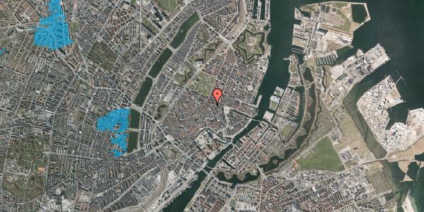 Oversvømmelsesrisiko fra vandløb på Store Regnegade 2, 1110 København K