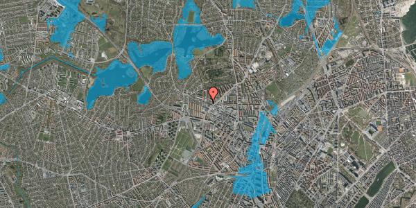 Oversvømmelsesrisiko fra vandløb på Rentemestervej 78D, st. , 2400 København NV