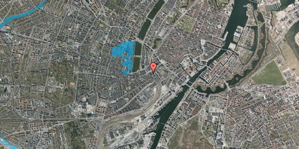 Oversvømmelsesrisiko fra vandløb på Reventlowsgade 4, 1. , 1651 København V