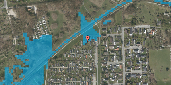 Oversvømmelsesrisiko fra vandløb på Vængedalen 927, 2600 Glostrup