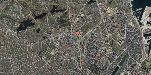 Oversvømmelsesrisiko fra vandløb på Bisiddervej 18, 2. th, 2400 København NV