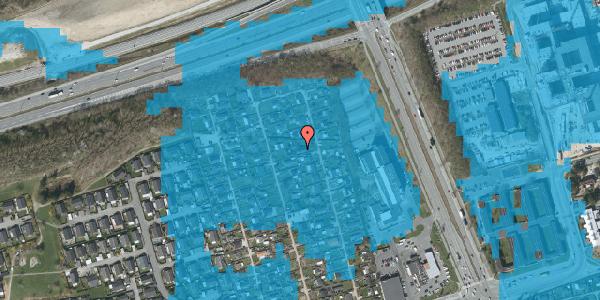 Oversvømmelsesrisiko fra vandløb på Hf. Kettehøj 102, 2650 Hvidovre