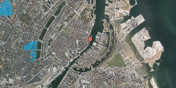Oversvømmelsesrisiko fra vandløb på Nyhavn 71, 1. , 1051 København K