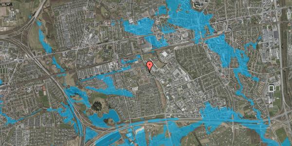 Oversvømmelsesrisiko fra vandløb på Promenaden 121, 2625 Vallensbæk
