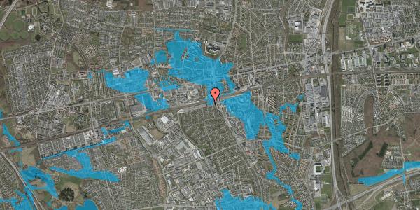 Oversvømmelsesrisiko fra vandløb på Banemarksvej 4, 2600 Glostrup